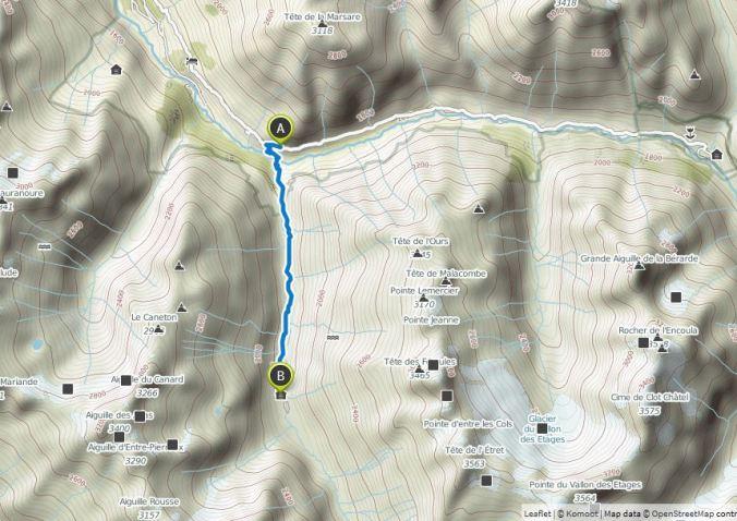 champhorent - la lavey 2h 5km +450