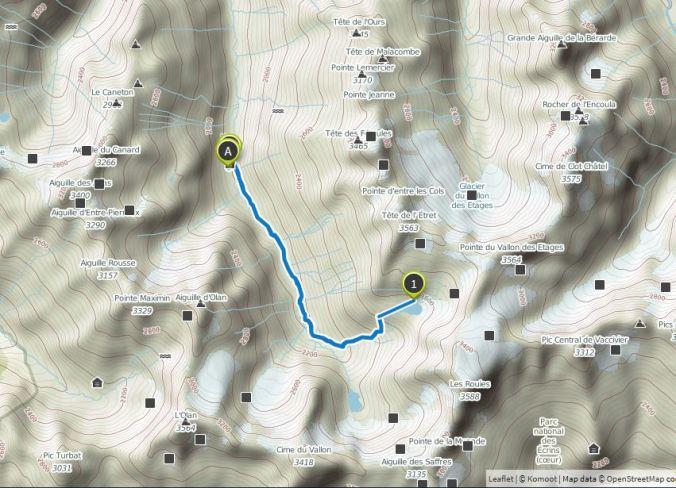 lac des Rouis 11 km 900m